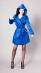 Women raincoat - navy
